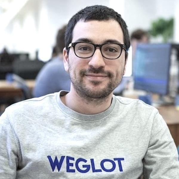 Rémy Berda - cofondateur de Weglot